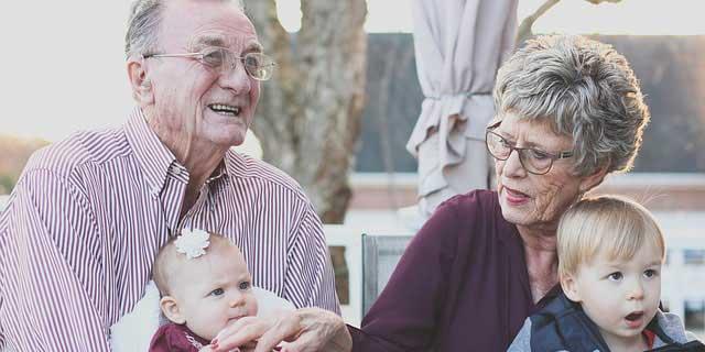 grandparent with child